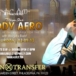 TeddyAfro for First Time in Philadelphia