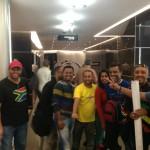 TeddyAfro Arrived Johannesburg