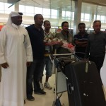 Teddy Afro Arrives at Doha, Qatar
